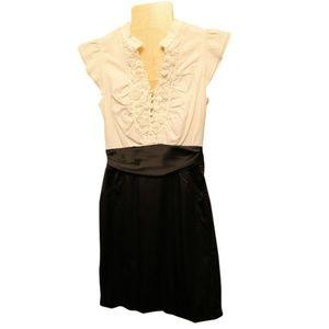 Black & White Short Dress
